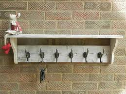 Shabby Chic Coat Hangers by Reclaimed Wood Hat And Coat Rack With Shelf Rustic Rustic Shabby