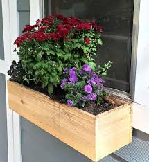 Wooden Window Flower Boxes - 15 amazing diy wooden planter box ideas and designs anika u0027s diy