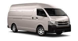 toyota hiace truck van rental van rental sydney 1 5t van rental