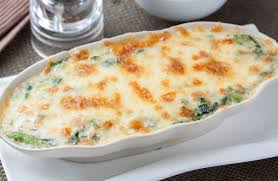 What Can I Mix With Cottage Cheese by Creamy Chicken And Spinach Bake Recipe Sparkrecipes
