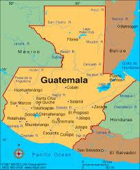 america map guatemala map central america guatemala
