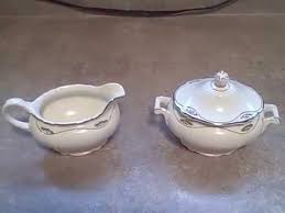 homer laughlin china virginia value lot of 2 homer laughlin vintage virginia creamer and sugar