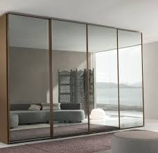 Mirrored Closet Door by Frameless Mirror Closet Doors Home Design Ideas