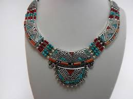 tibetan necklace images Necklace ethnic handmade tibetan necklace 80 eur jewellery jpg