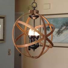 orb chandelier light 14