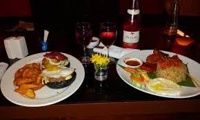 dinner order charcoal burger 5 5 nasi lemak 3 5 picture