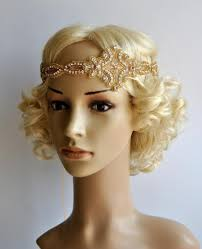 gatsby headband gold gatsby headband 1920s flapper headpiece rhinestone beaded