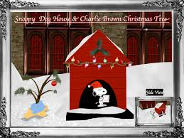 brown christmas snoopy dog house second marketplace snoopy christmas dog house brown