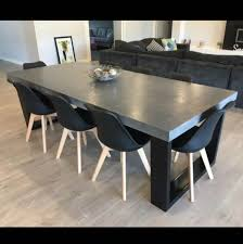 Dining Tables Canada Concrete Dining Tables Canada Leandrocortese Info