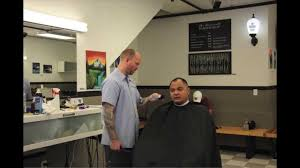 seattle barbers that do seahawk haircuts the roosevelt barbershop seattle timelapse haircut youtube
