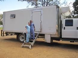 in zambia new dentist volunteers to treat patients in a truck