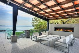 Outdoor Fireplace Patio Designs Covered Patio Designs Patio Contemporary With Outdoor Seating