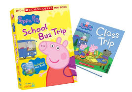 peppa pig bus trip dvd mini book reader giveaway