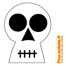 dessins tête de mort dessin coloriage tete de mort halloween
