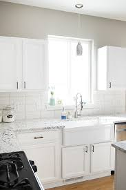 kitchen cabinets top coat a kitchen makeover painting kitchen cabinets bungalow 47