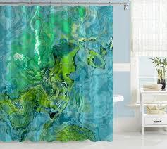 Bathroom Shower Curtain Ideas Designs Colors 25 Best Green Shower Curtains Ideas On Pinterest Tropical