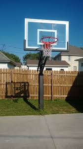 the pro dunk silver basketball system is centered on the expansion