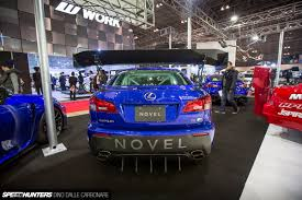 lexus isf rear diffuser the novel is f an unusual base speedhunters