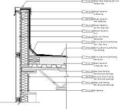 Curtain Walls Represent Roof Flat Detail Curtain Wall Detail Google Search Detalles