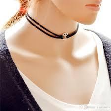 velvet ribbon necklace images Wholesale gothic sunflower charms lace necklace velvet ribbon jpg