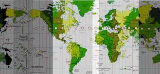 utc zone map zones utc gmt 1