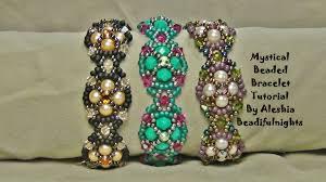 Beaded Jewelry Making - mystical beaded bracelet tutorial youtube