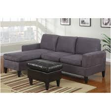 Small Modern Sectional Sofa by Furniture Green Microfiber Reversible Sectional Sofa With Chaise
