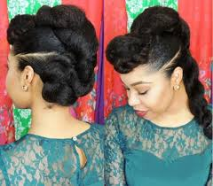 hair in a bun for women over 50 50 cute updos for natural hair