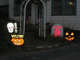 the halloween queen reflective light up halloween signs