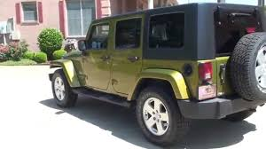 2007 green jeep wrangler hd 2007 jeep wrangler rescue green for sale see