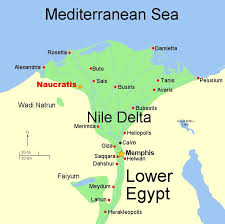 nile river on map river and delta
