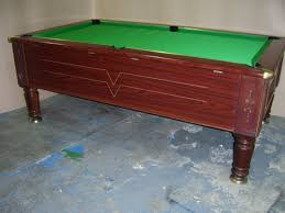 Slate Bed Imperial 7x4 Slate Bed Pub Pool Table Free Play