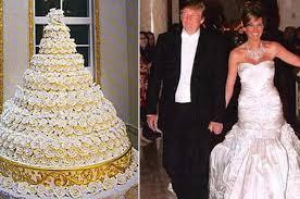 wedding cake kate middleton donald and melania knauss s grand marnier wedding cake from