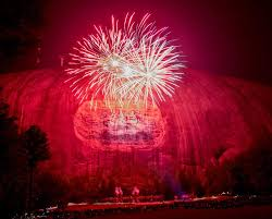stone mountain laser light show stone mountain park s confederate carving needs rebranding