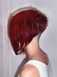 redhair nape shave instagram post by lose your locks chopitoff chop chop