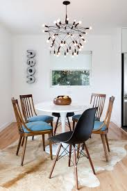 dining table with rug underneath gorgeous minimalist dining room that still feels warm and comfy