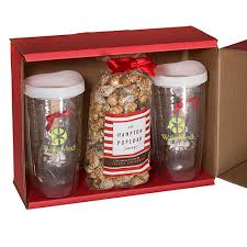 hot cocoa gift set avalon tumblers popcorn hot cocoa gift set promotional