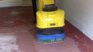 Removing Paint From Concrete Steps by How To Remove Paint On A Garage Floor Start To Fin Youtube