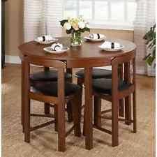 Round Kitchen Table Set EBay - Small round kitchen table set