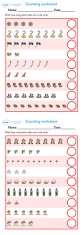 93 best my maths sheets images on pinterest times tables