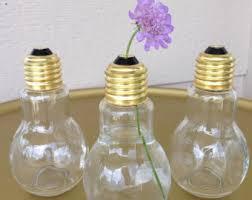 Diy Plastic Bottle Vase Light Bulb Vase Etsy