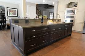 kitchen islands oak monarch kitchen island in black and oak finish home design ideas