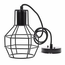 discount vintage indoor lighting retro industrial painted pendant