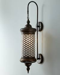 Moroccan Wall Sconce Moroccan Metal Sconce