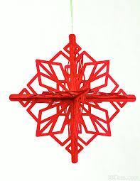 3d snowstars ornaments by 3dcuts marji roy designs