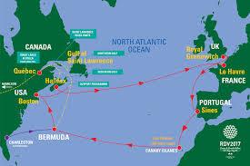 map usa bermuda boston usa sail on board