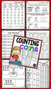 Counting Coins Worksheet Generator The 25 Best Counting Coins Worksheets Ideas On