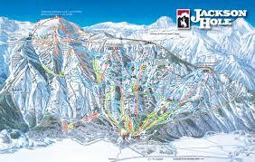 Colorado Ski Resorts Map by Jackson Hole Ski Resort