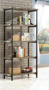 Coaster Bookshelf Bookcase Small Rustic Bookcase For Living Room Furniture Rustic