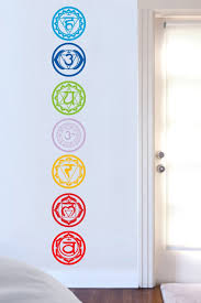 bring vital energy into your home with 7pcs set chakras vinyl wall bring vital energy into your home with 7pcs set chakras vinyl wall decal mandala yoga